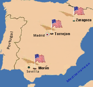 Moron Spain Map.Vizcaya And Air Base Spain Www Picturesso Com